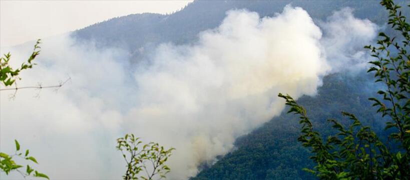 Prenj Wildfire Source: Anadolu Agency