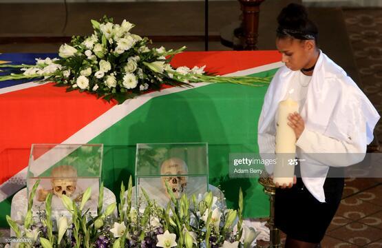 Germany Returning Remains of Massacred Namibians 2018