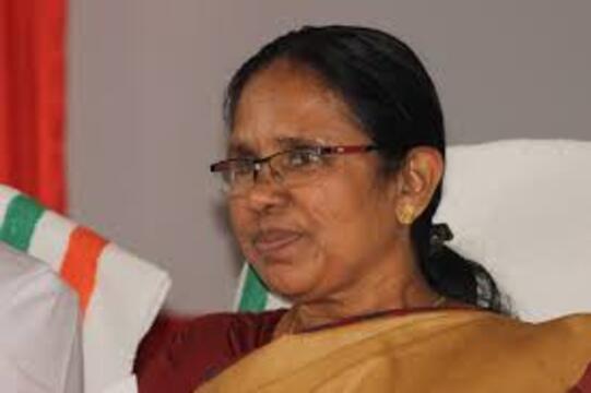 Minister KK Shailaja (wikicommons)