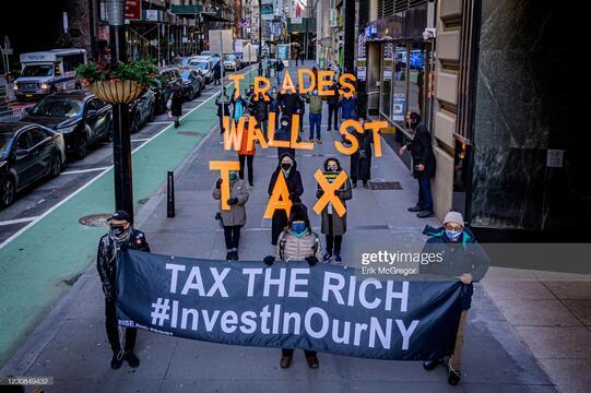 NY protests 28 Jan 2021