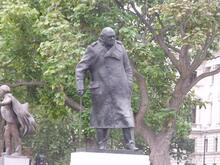 Churchill Statue by Elliott Brown