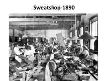 Sweatshop 1890s